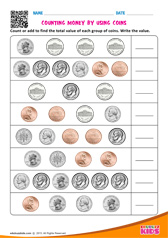 Counting Money by Using Coins